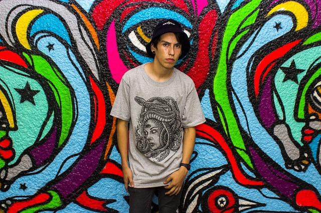 tričko a barvy