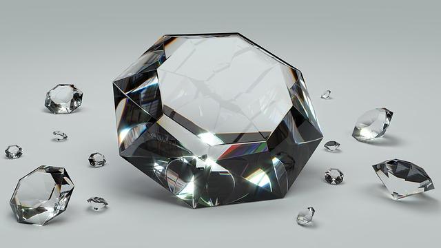 ušlechtilý diamant